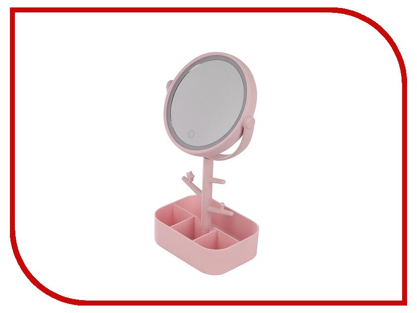 Зеркало косметическое Эврика №2 с подсветкой 98964