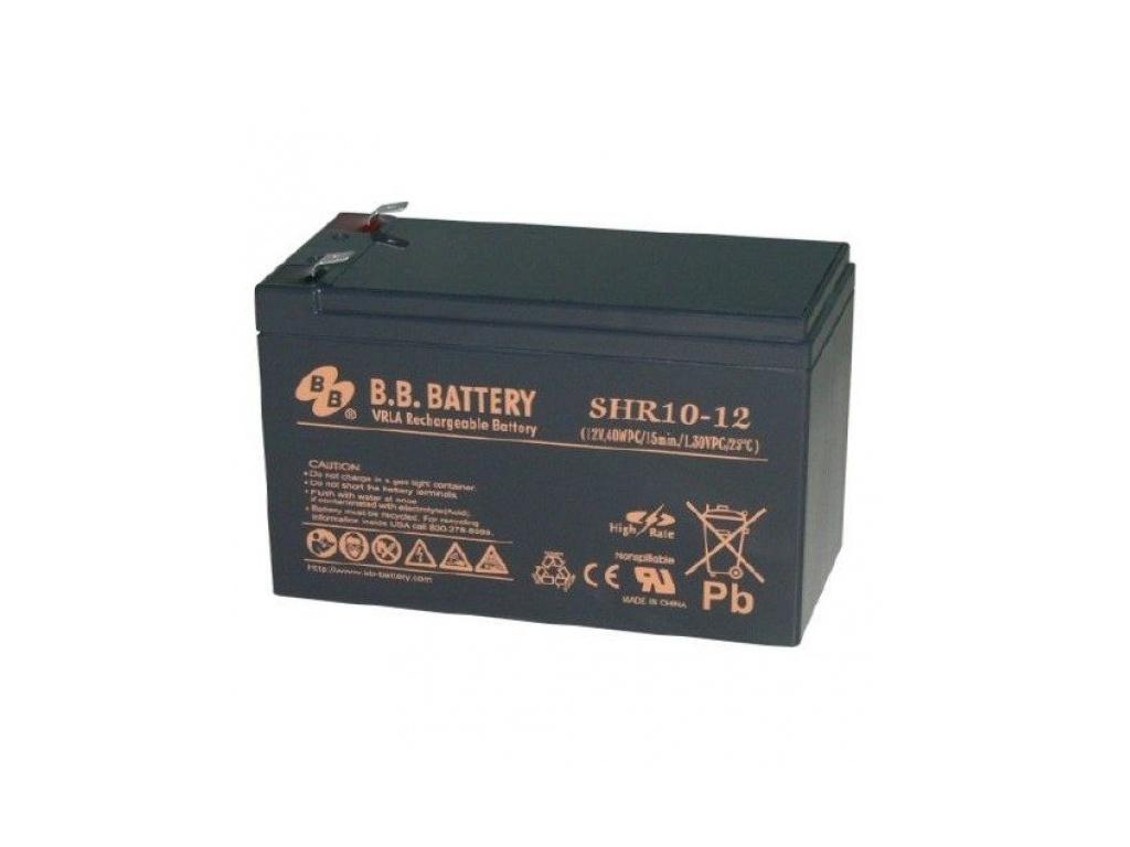 Аккумулятор для ИБП B.B.Battery SHR 10-12 аккумулятор для ибп ventura gpl 12 120
