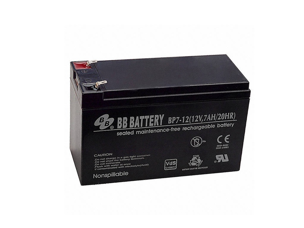 Аккумулятор для ИБП B.B.Battery BP 7-12