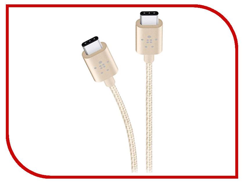Аксессуар Belkin Mixit Metallic USB-C F2CU041BT06-GLD Gold цены онлайн