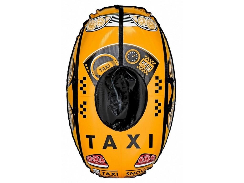 Тюбинг RT Машинка Taxi Snow 110 см Yellow