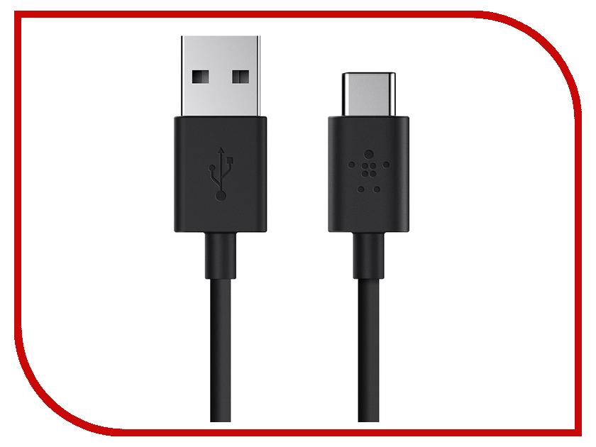 Аксессуар Belkin USB-A to USB-C F2CU032bt06-BLK Black аксессуар belkin usb 2 0 a m b m f3u154cp48m black
