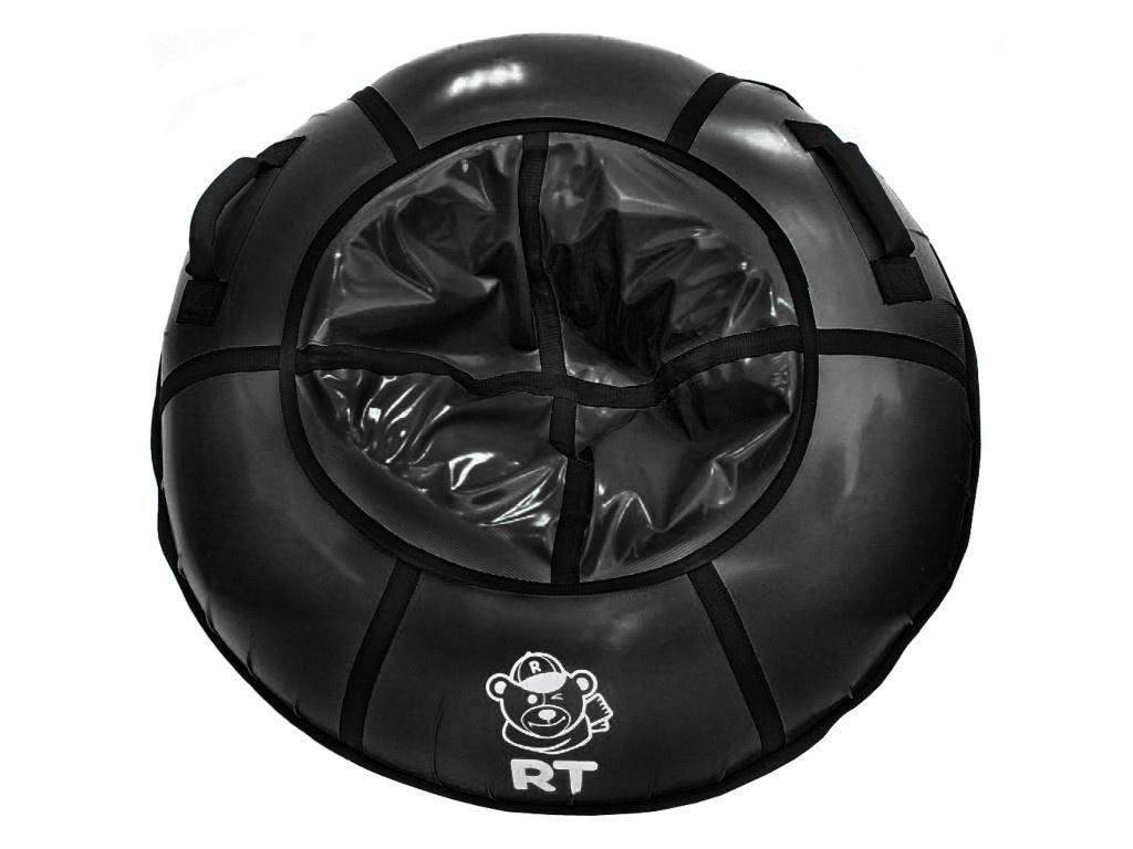 Тюбинг RT 100cm с пластиковым дном Black