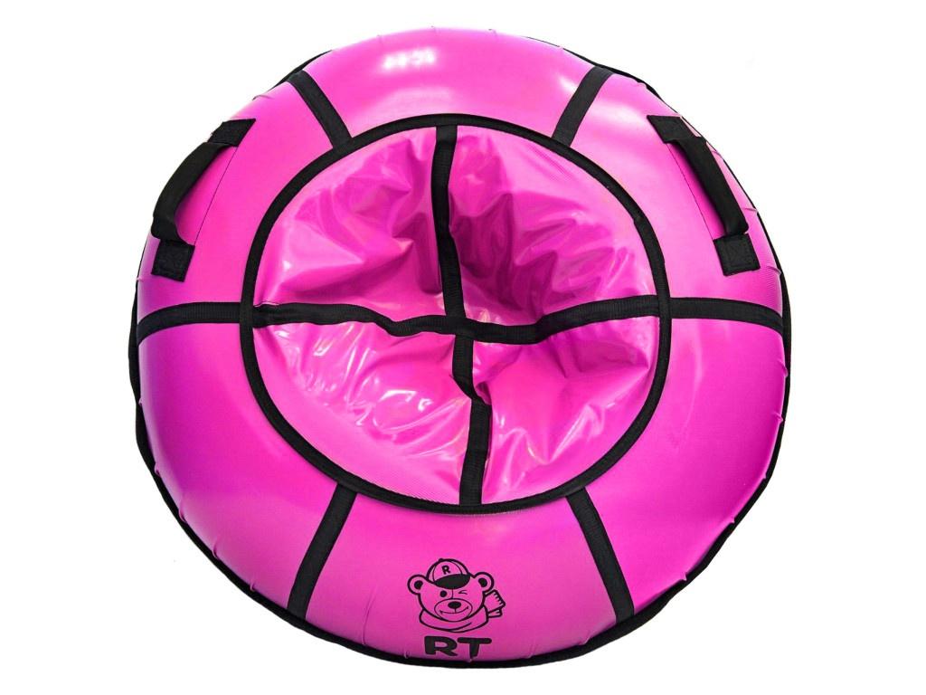 Тюбинг RT 100cm с пластиковым дном Pink