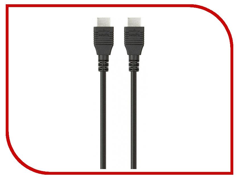 Фото - Аксессуар Belkin HDMI 5m F3Y020bf5M Black аксессуар mobiledata hdmi 4k v 2 0 плоский 1 8m hdmi 2 0 fn 1 8