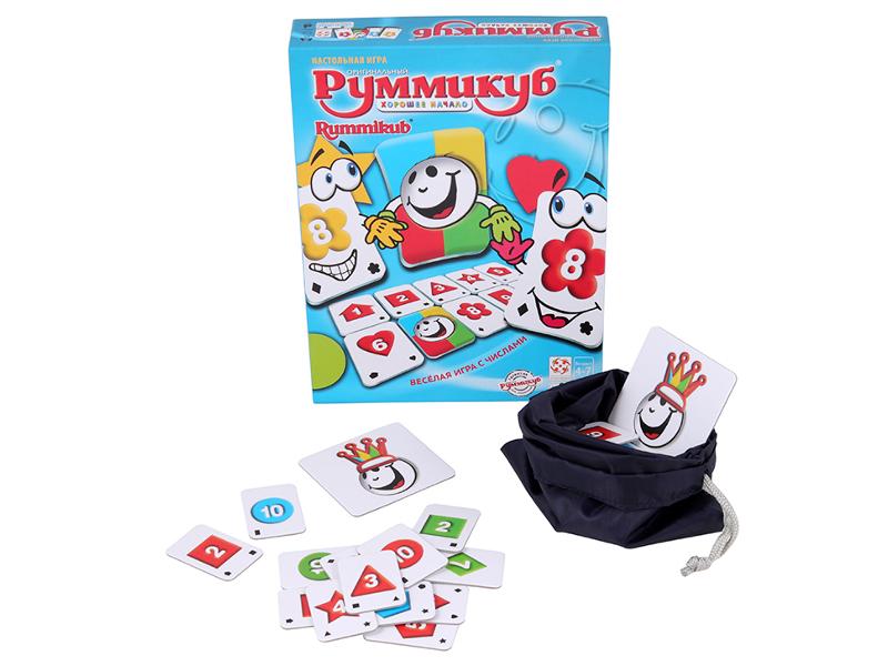 Настольная игра Стиль жизни Руммикуб. Хорошее начало БП-00002012