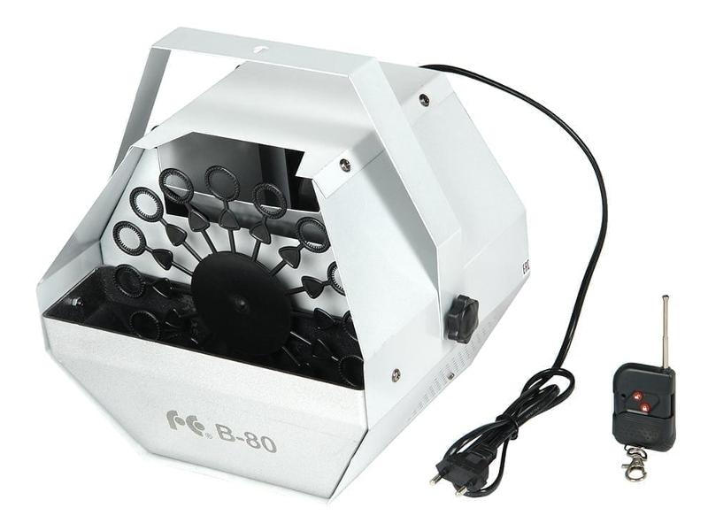 Генератор мыльных пузырей Falcon Eyes B-80 игрушка бластер для мыльных пузырей дельфин 11 01249 066