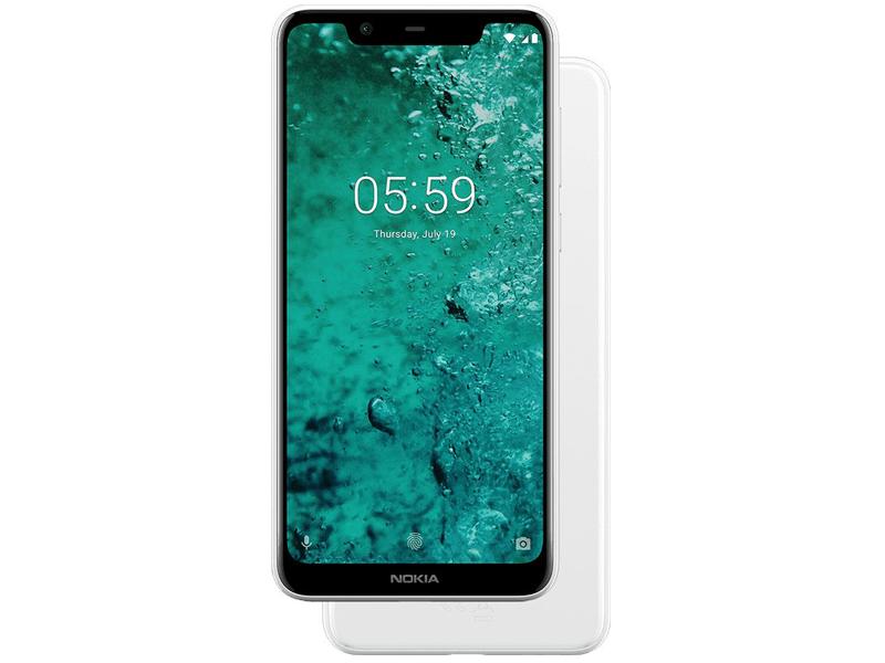 Сотовый телефон Nokia 5.1 Plus (TA-1105) White
