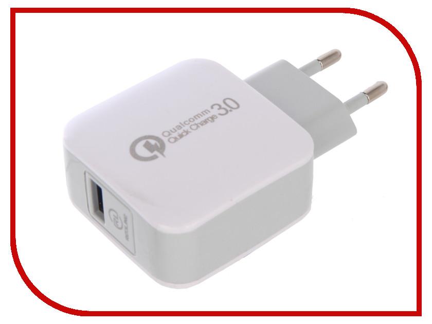 Зарядное устройство Red Line NQC-4 Tech USB QC 3.0 White УТ000016519 зарядное устройство red line h16 silver