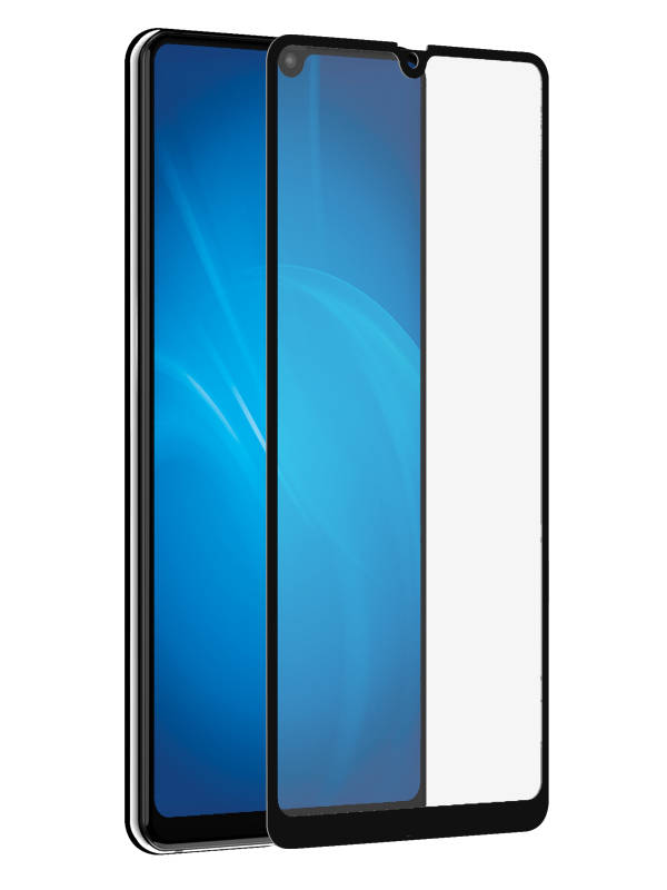Закаленное стекло DF для Huawei Mate 20 Full Screen + Full Glue hwColor-81 Black Frame от DF-GROUP