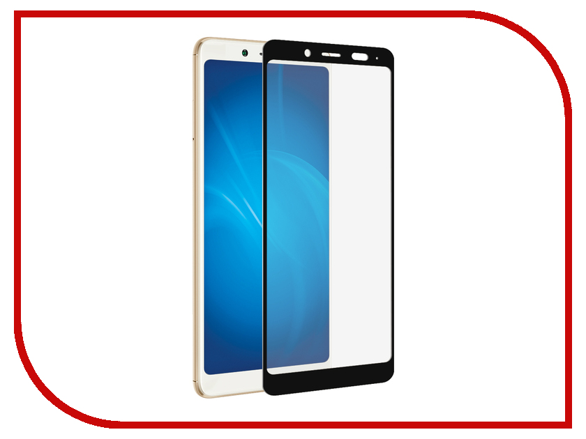 Аксессуар Закаленное стекло для Xiaomi Redmi Note 5 / Note 5 Ai DF Full Screen + Full Glue xiColor-31 Black Frame original lcd screen display touch panel digitizer with frame for 5 5 meizu mx5 mx 5 white or black free shipping