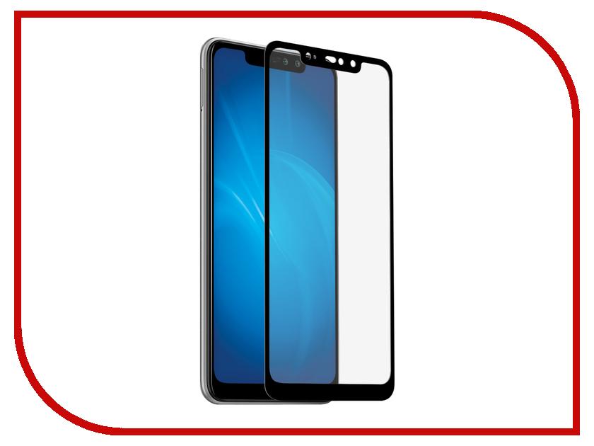 Купить Аксессуар Закаленное стекло для Xiaomi Redmi Note 6 Pro DF Full Screen xiColor-46 Black Frame, DF-GROUP