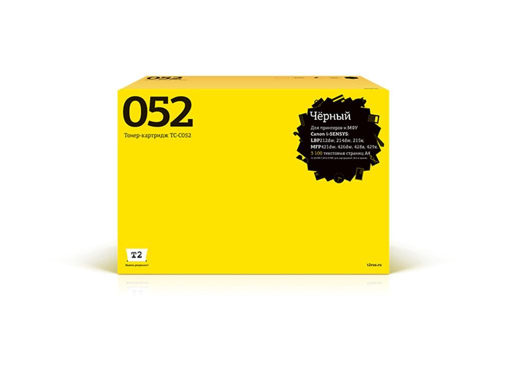 Картридж T2 TC-C052 для Canon i-SENSYS LBP212dw/214dw/215x/MF421dw/428x/426dw/429x Black