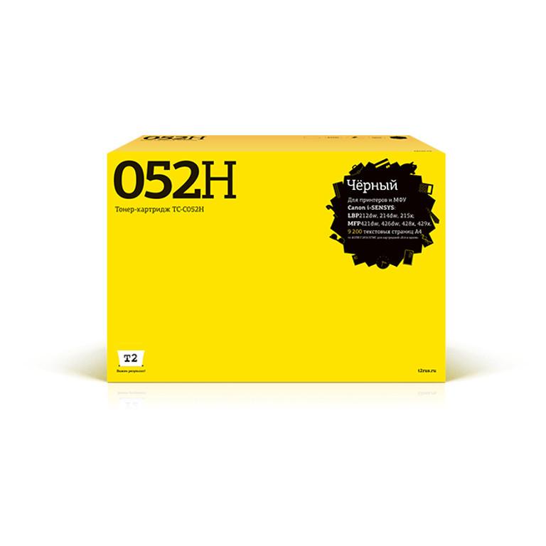 Картридж T2 TC-C052H для Canon i-SENSYS LBP212dw/214dw/215x/MF421dw/428x/426dw/429x Black