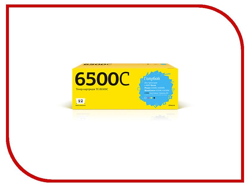 Картридж T2 TC-X6500C для Xerox Phaser 6500N/6500DN/WorkCentre 6505N/6505DN Cyan t2 tc s203l