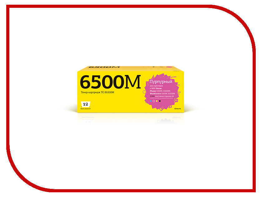Картридж T2 TC-X6500M для Xerox Phaser 6500N/6500DN/WorkCentre 6505N/6505DN Magenta t2 tc s203l