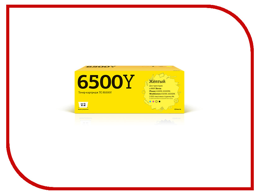 Картридж T2 TC-X6500Y для Xerox Phaser 6500N/6500DN/WorkCentre 6505N/6505DN Yellow sven seb 130