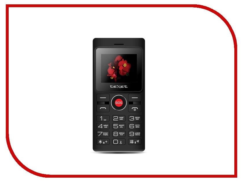 Сотовый телефон teXet TM-106 Black-Red сотовый телефон texet tm 414 black