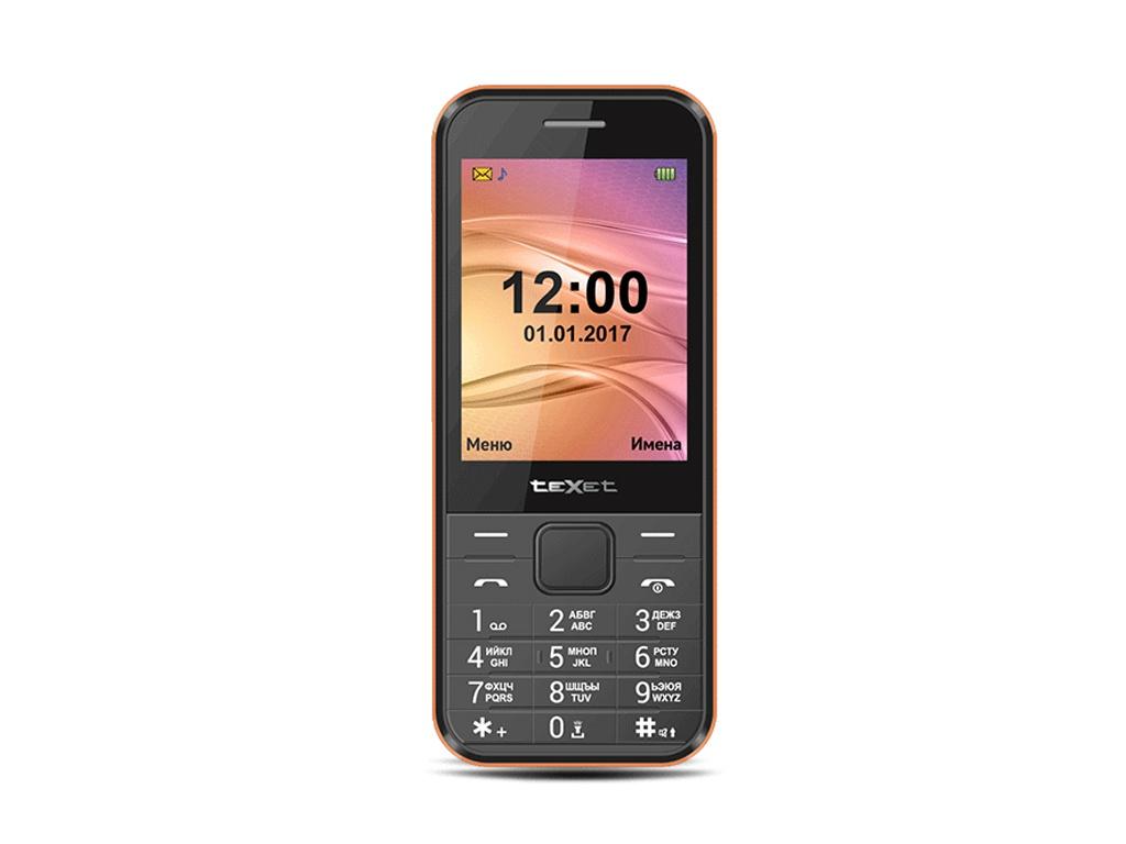 Сотовый телефон teXet TM-302 Black цена 2017