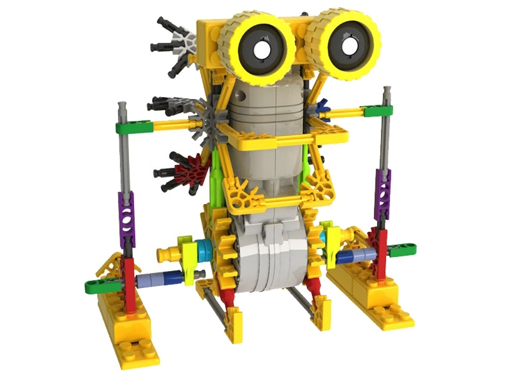 Конструктор LoZ Robotic Jungle 125 дет. LZ3011 конструктор loz человечек зимний 520 дет lz9610