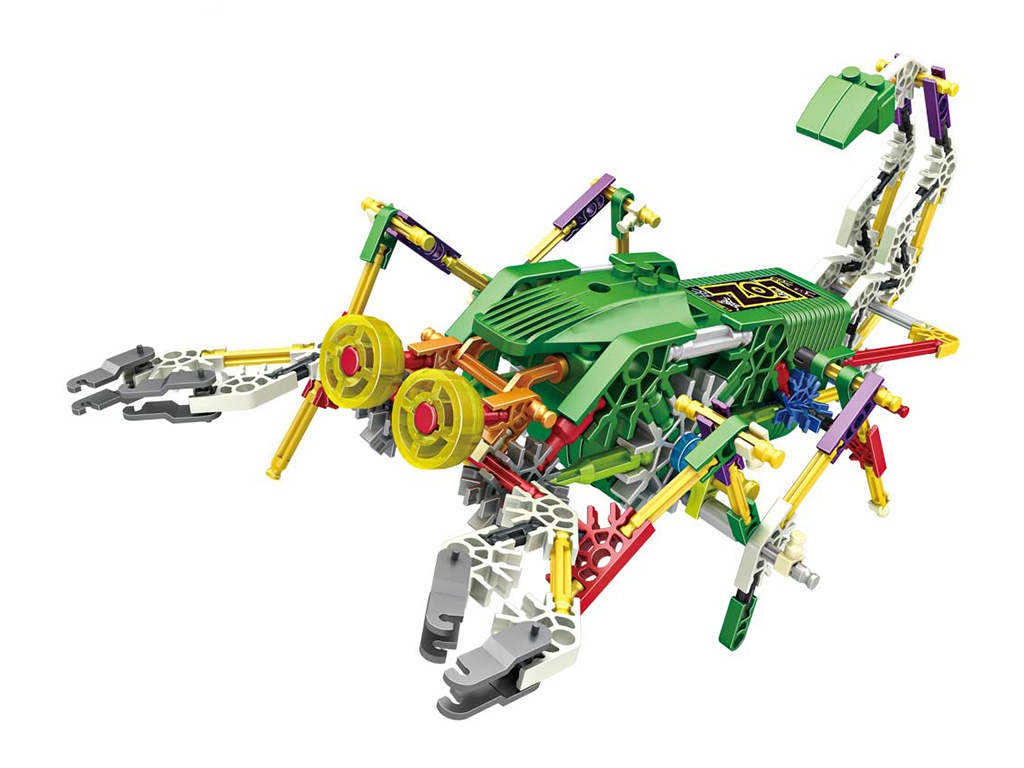 Конструктор LoZ Robotic Scorpion Jungle 160 дет. LZ3019