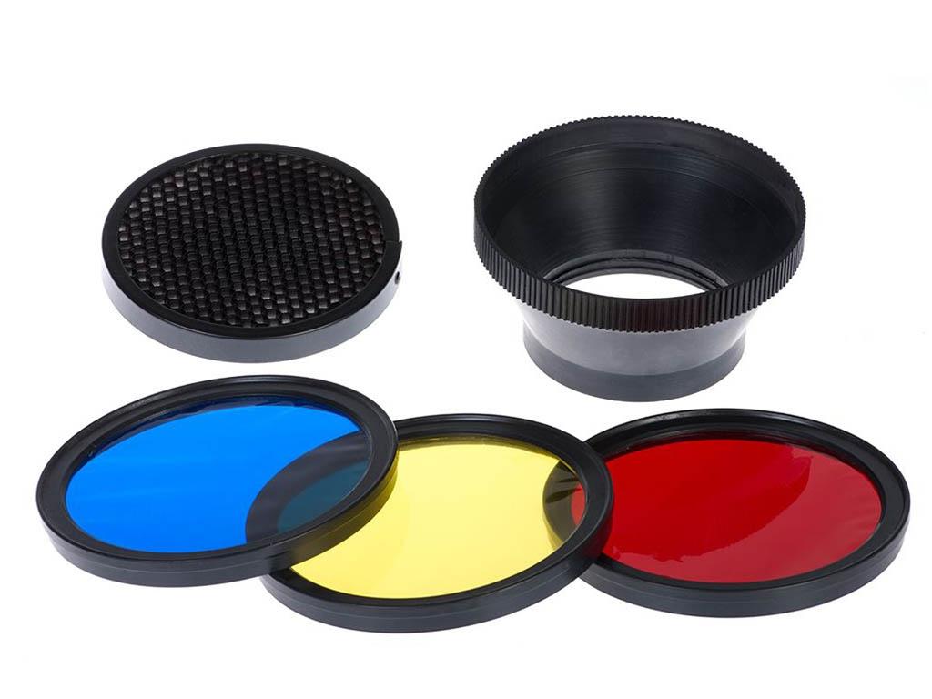 Falcon Eyes MFA-HC - набор цветных фильтров для вспышки