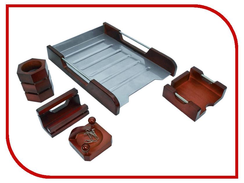 Настольный набор Delucci Red Wood MBn_05220