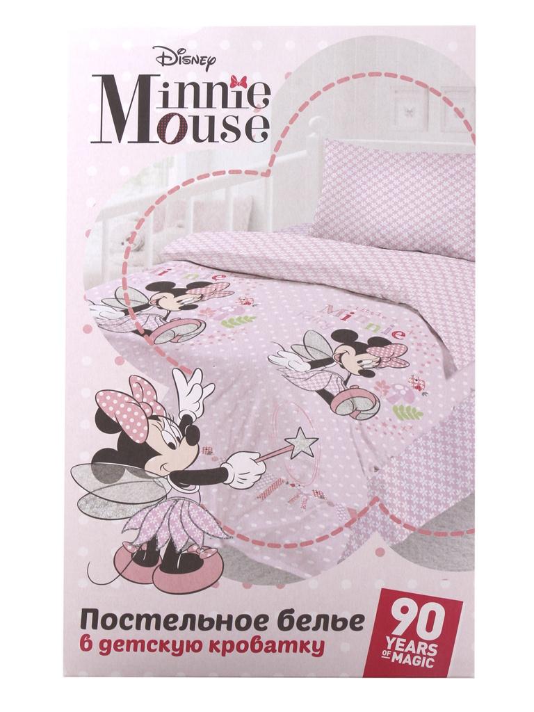 Постельное белье Disney Minnie Fairy Комплект Детский Ранфорс 731061 кроссовки disney minnie кроссовки