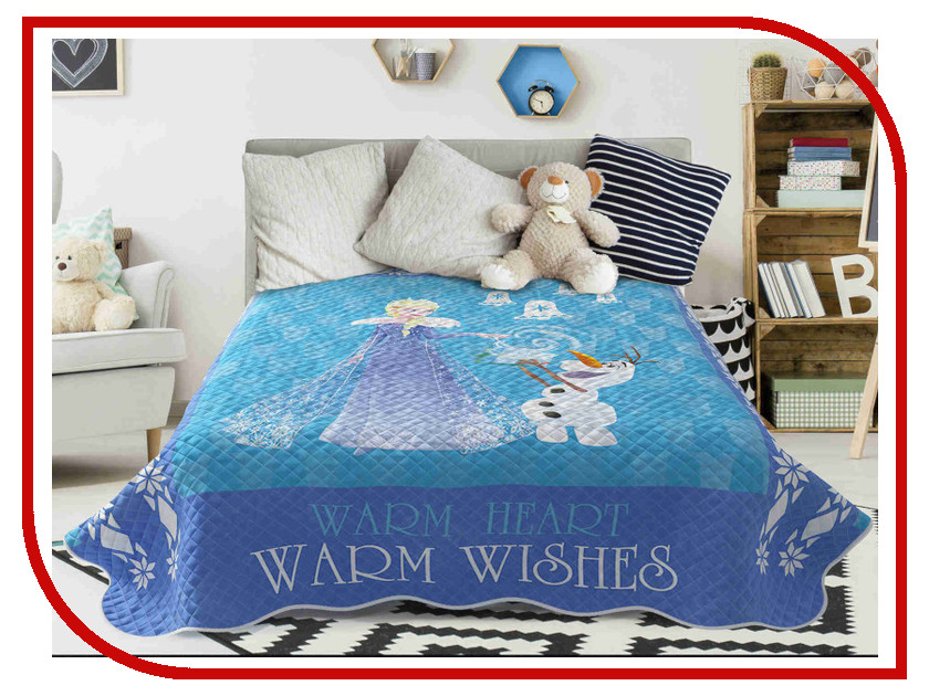 Покрывало Disney Warm Wishes 160x200cm 723038 christmas wishes