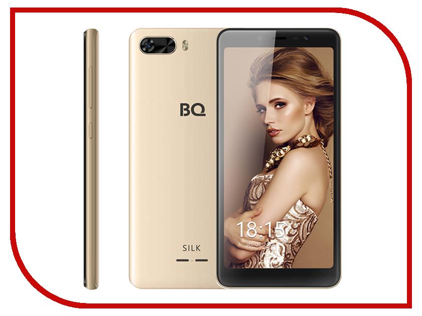 Сотовый телефон BQ BQ-5520L Silk Gold сотовый телефон bq 5032 element gold
