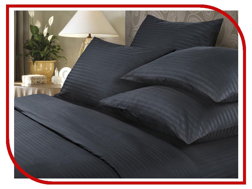 Постельное белье Verossa Stripe Комплект Семейный Black Страйп 719014 постельное белье verossa constante royal peach комплект 2 спальный страйп 192836