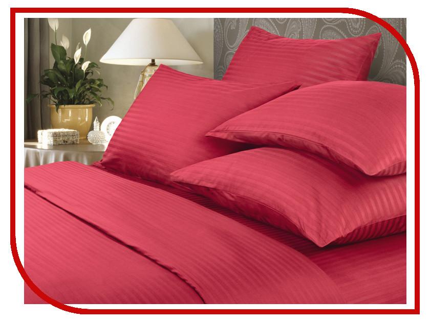 Постельное белье Verossa Stripe Комплект 1.5 спальный Red Страйп 718969 цена