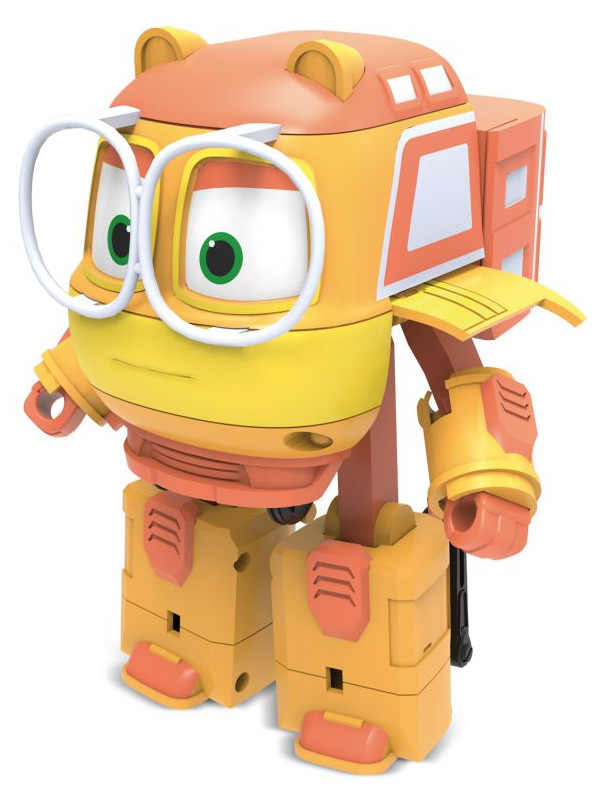 Робот SilverLit Трансформер Джинни 10cm 80181