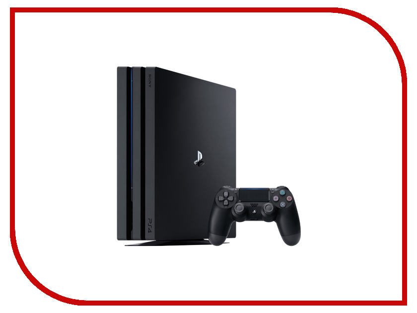 Игровая приставка Sony PlayStation 4 Pro 1Tb Black CUH-7208B