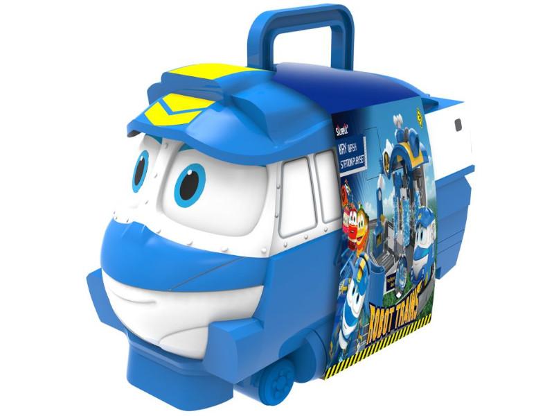 Игрушка SilverLit Кейс для хранения роботов-поездов Кей 80175