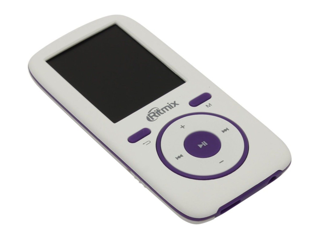 лучшая цена Плеер Ritmix RF-4450 4Gb White-Violet
