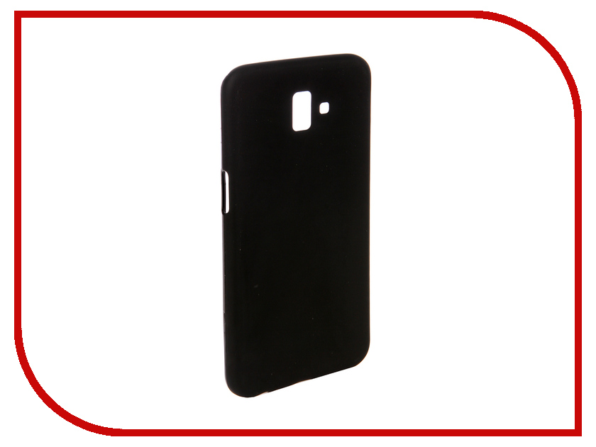 Аксессуар Чехол для Samsung Galaxy J6 Plus 2018 J610F Svekla Silicone Black SV-SGJ610F-MBL аксессуар чехол для sony xperia l1 g3311 g3312 svekla silicone black sv sog3311 mbl