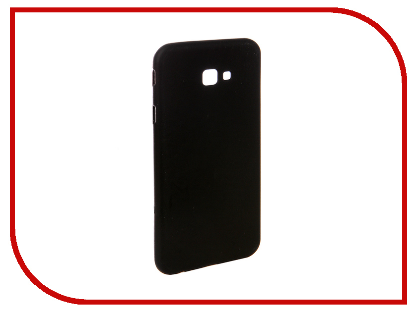 Аксессуар Чехол для Samsung Galaxy J4 Plus 2018 J415F Svekla Silicone Black SV-SGJ415F-MBL аксессуар чехол для samsung galaxy a5 2017 a520f svekla silicone black sv sga520f mbl