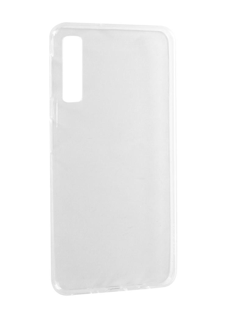 Аксессуар Чехол для Samsung Galaxy A7 2018 A750F Svekla Silicone Transparent SV-SGA750F-WH аксессуар чехол для samsung galaxy j7 j730 2017 gecko transparent glossy white s g sgj7 2017 wh