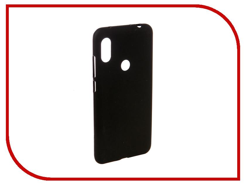 Аксессуар Чехол для Xiaomi Note 6 Pro Svekla Silicone Black SV-XINOTE6P-MBL аксессуар чехол для huawei p20 pro svekla black sv hwhp20p mbl