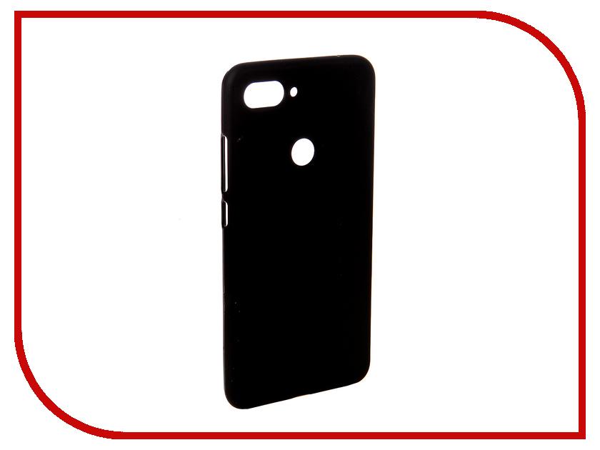 Аксессуар Чехол для Xiaomi Mi8 Lite Svekla Silicone Black SV-XIMI8LITE-MBL аксессуар чехол для samsung galaxy a5 2017 a520f svekla silicone black sv sga520f mbl