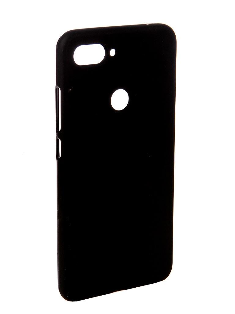 Аксессуар Чехол Svekla для Xiaomi Mi8 Lite Silicone Black SV-XIMI8LITE-MBL