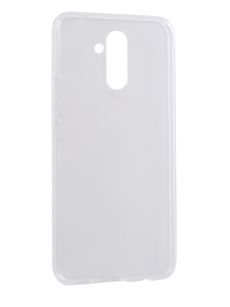 Аксессуар Чехол Svekla для Huawei Mate 20 Lite Silicone Transparent SV-HWM20LITE-WH