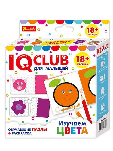 Пазл Ranok Creative IQ Club Изучаем цвета вид 1 13152030Р цена