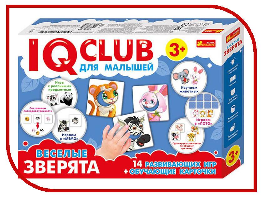 Пазл Ranok Creative IQ Club Веселые зверята 13152045Р игра ranok creative шоу экспериментов