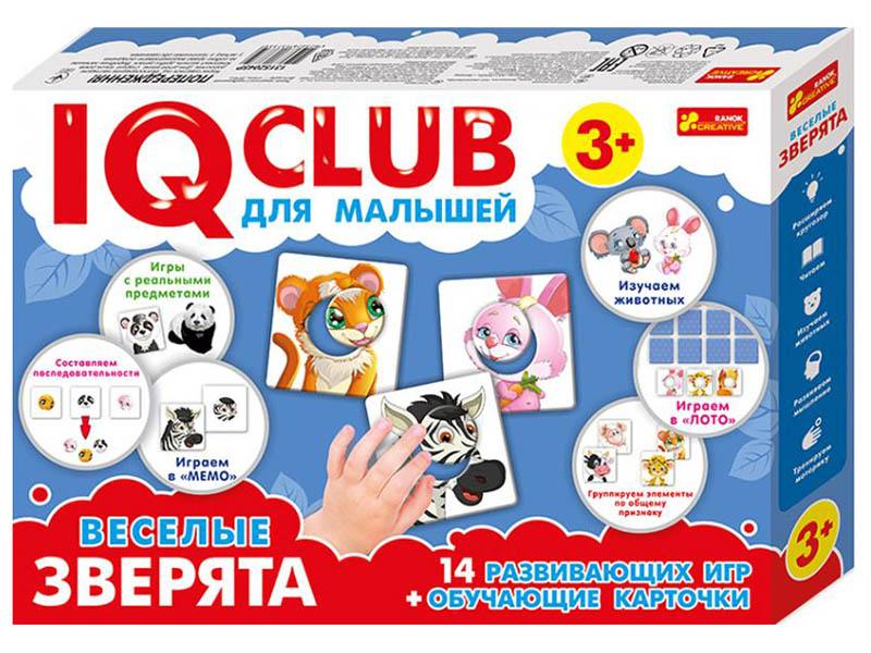 Пазл Ranok Creative IQ Club Веселые зверята 13152045Р цена