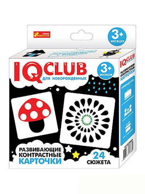 Пособие Ranok Creative IQ Club Развивающие контрастные карточки 13152050Р цена