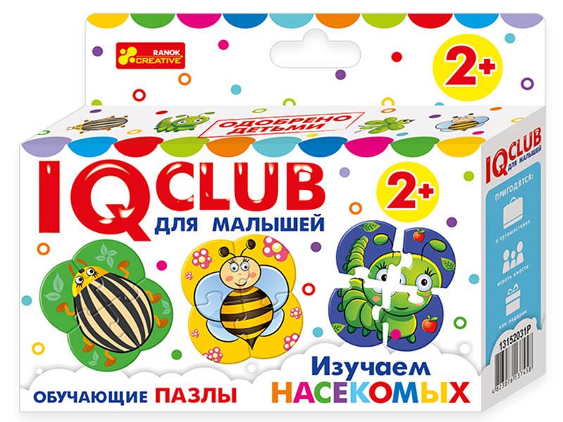 Пазл Ranok Creative IQ Club Изучаем насекомых 13152031Р
