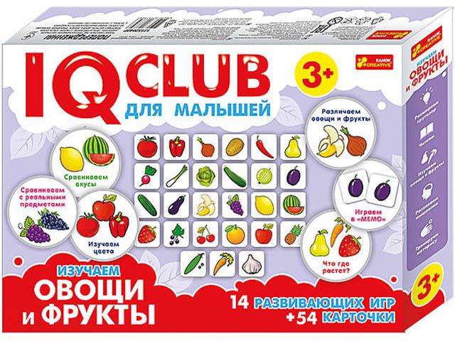 Пазл Ranok Creative IQ Club Изучаем овощи и фрукты 13152040Р цена