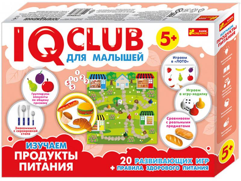 Пазл Ranok Creative IQ Club Изучаем продукты питания 13152043Р цена